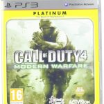 Call of Duty 4 Modern Warfare (Platinum) (PS3)
