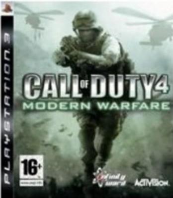 Call of Duty 4 Modern Warfare (PS3)
