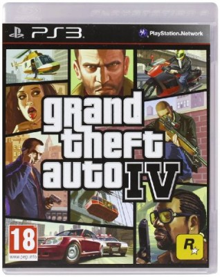Grand Theft Auto IV (4) (PS3) Game Shop Prudhoe