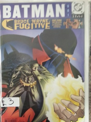 Batman #601 (MAY 2002) By DC Comics  Bruce Wayne Fugitive  Buy Sell Trade Comics Gamer Nights Comic Shop Castleford.