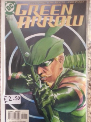 Green Arrow #15 By DC Comics.  Buy Sell Trade Comics Gamer Nights Comic Shop Castleford.