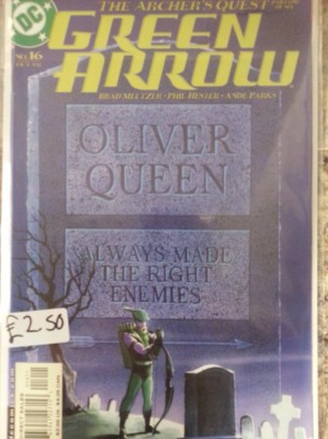 Green Arrow #16 By DC Comics.  Buy Sell Trade Comics Gamer Nights Comic Shop Castleford.