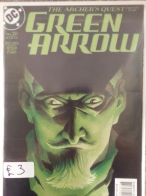 Green Arrow #20 By DC Comics. Buy Sell Trade Comics Gamer Nights Comic Shop Castleford.