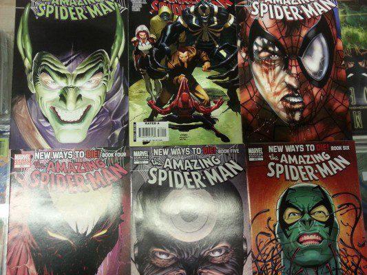 (Marvel) Amazing Spider-Man New Ways to Die 1-6 Complete