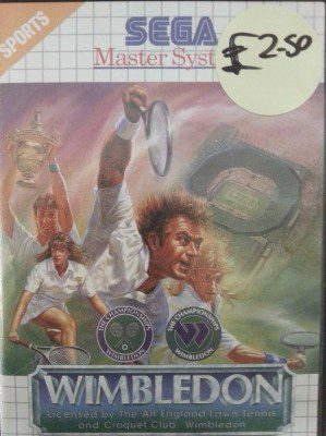 Wimbledon on the SEGA Master System Buy Sell Trade Retro Games Gamer Nights Game Shop Castleford