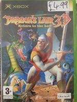(Original XBOX) Dragons Lair 3D