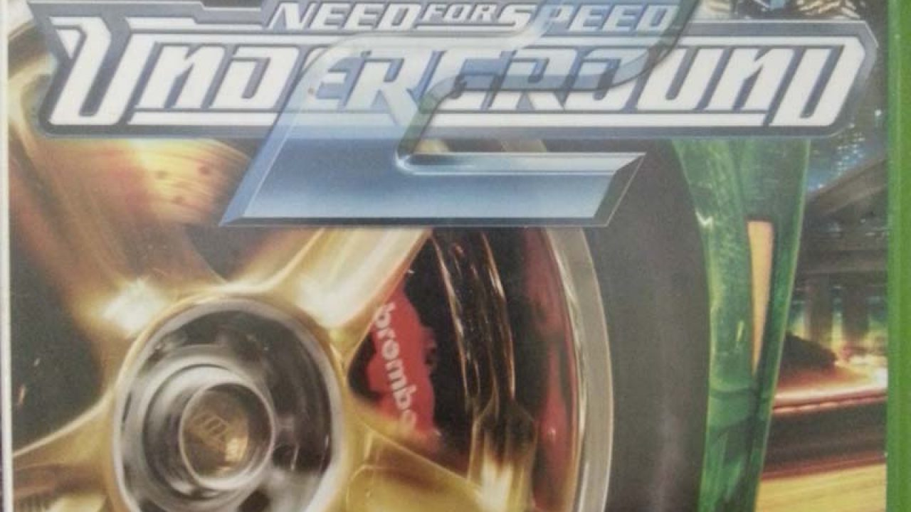 (Original XBOX) Need For Speed UNDERGROUND 2