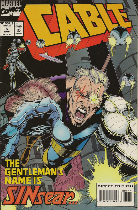 MARVEL CABLE #5 NOV 1992 (COMICS)