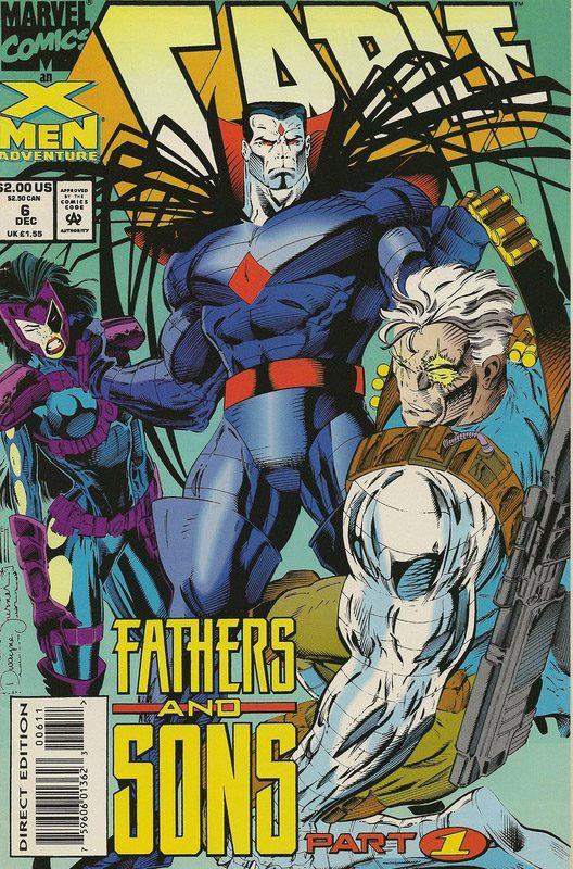 MARVEL CABLE #6 DEC 1992 (COMICS)