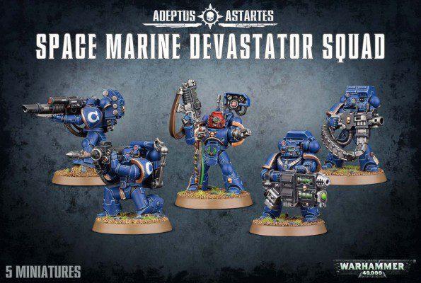Space Marine Devastator Squad NEW ED (NEW)