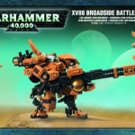 TAU XV88 Broadside Battlesuit Games Workshop (NEW)