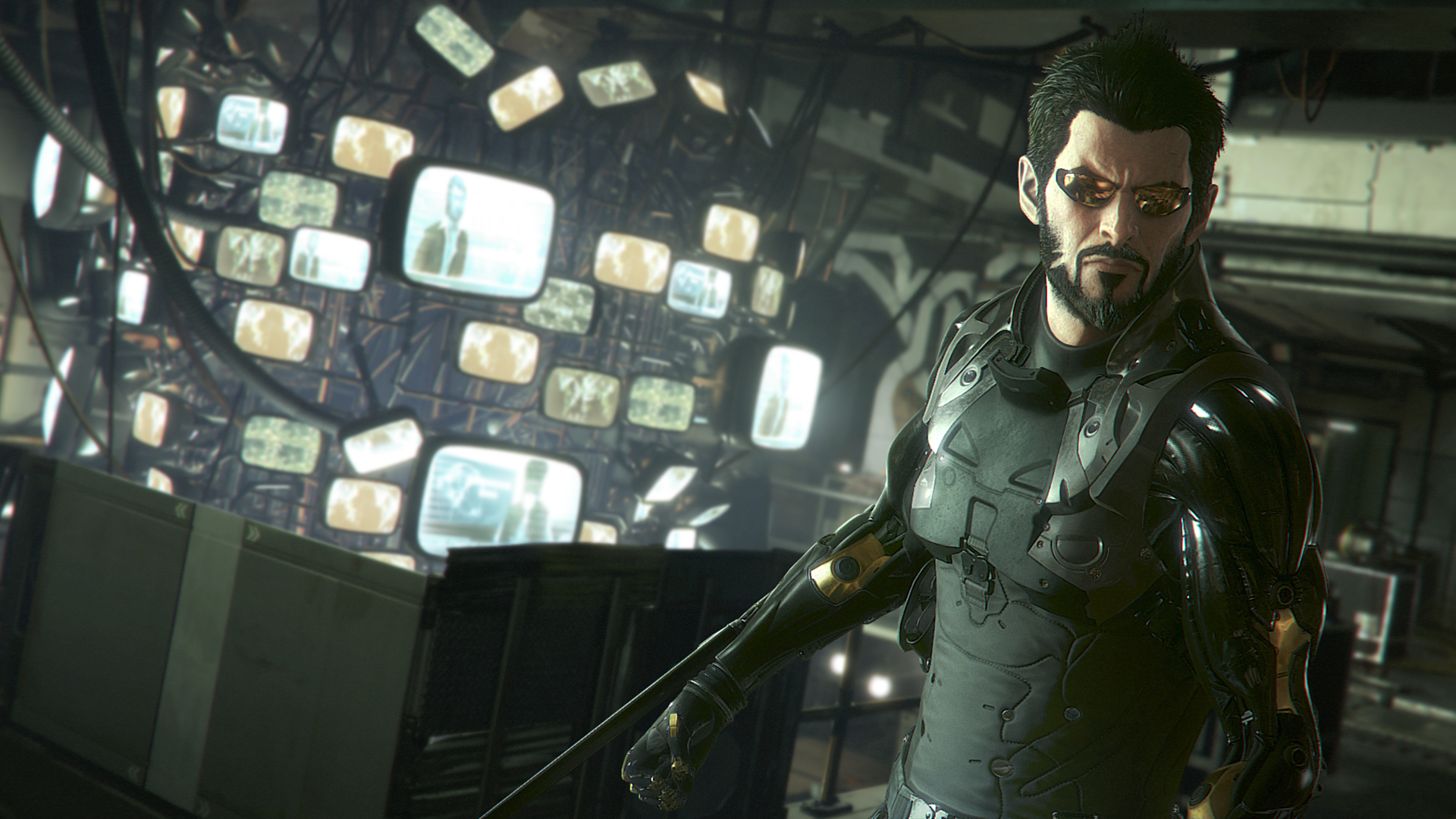 Deus Ex: Mankind Divided E3 2015 Gameplay Walkthrough