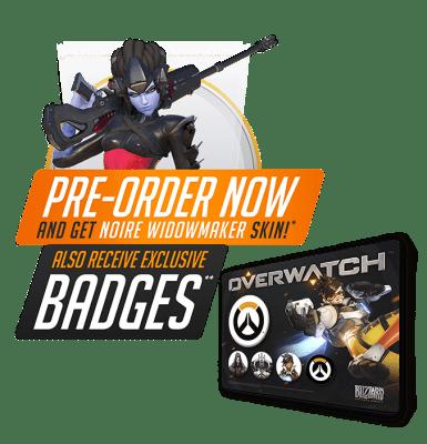 EXCLUSIVE Overwatch Badges