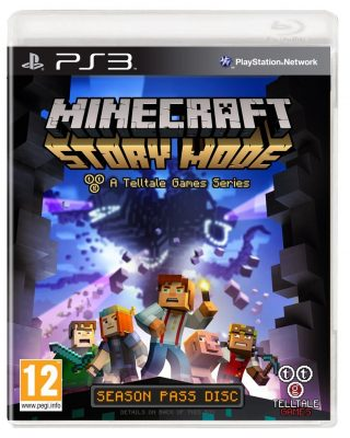Minecraft Story Mode (PS3) Game Shop Prudhoe