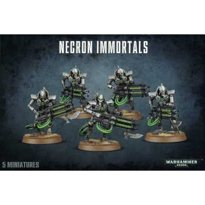 Necron Immortals Deathmarks