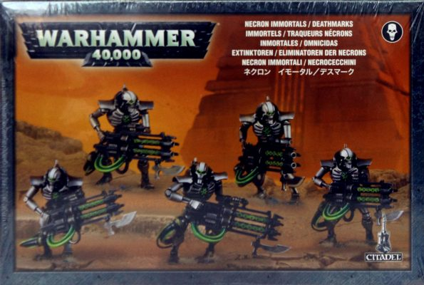 Necron Immortals Deathmarks (NEW)