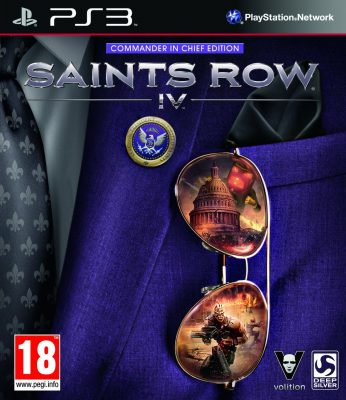 Saints Row IV Commander In Chief Edition (PS3)