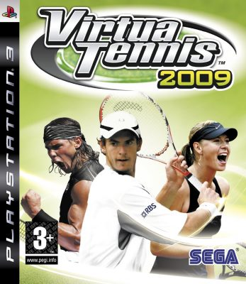 Virtua Tennis 2009 (PS3) Game Shop Prudhoe
