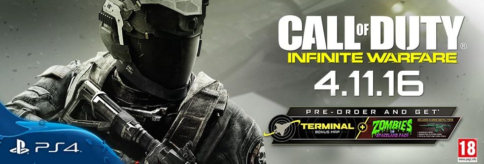 PRE-ORDER CALL OF DUTY INFINITE