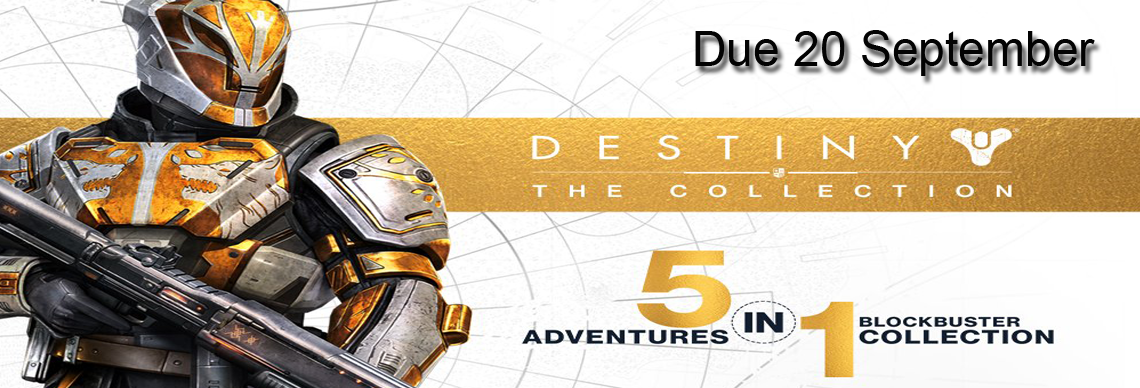 Destiny Collection on PS4 / Xbox One Out Tuesday