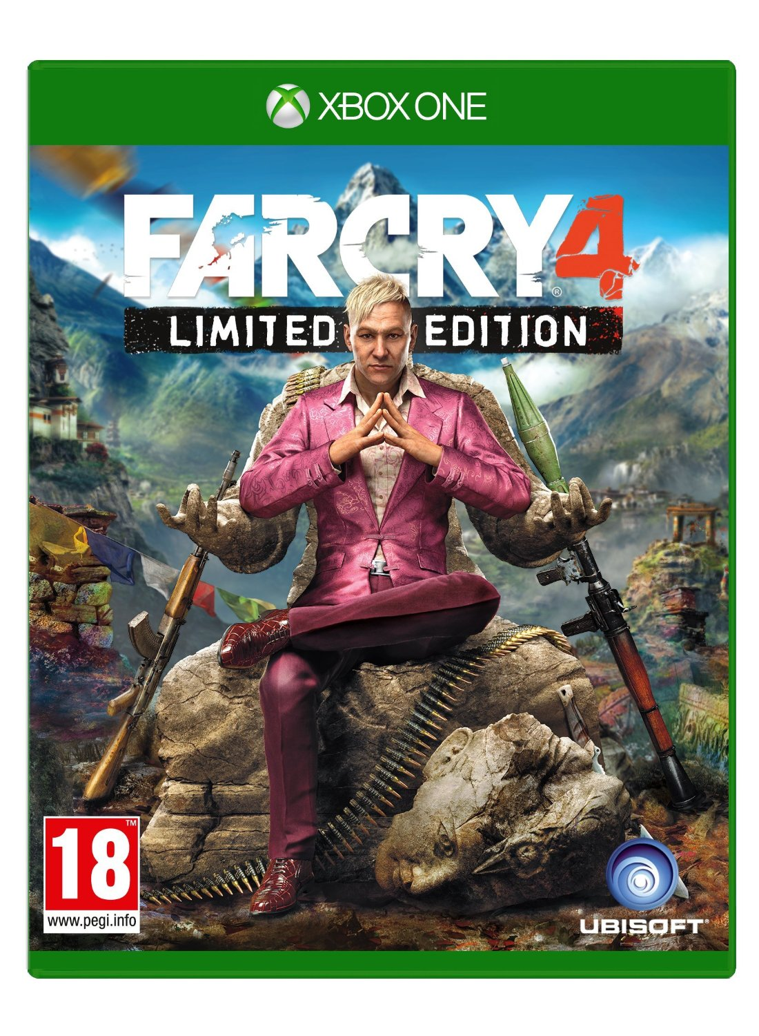 far cry 4 limited edition xbox one buy games online. Black Bedroom Furniture Sets. Home Design Ideas