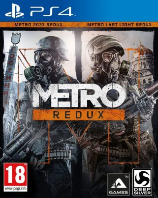 Prudhoe PS4 Games Metro Redux (PS4)