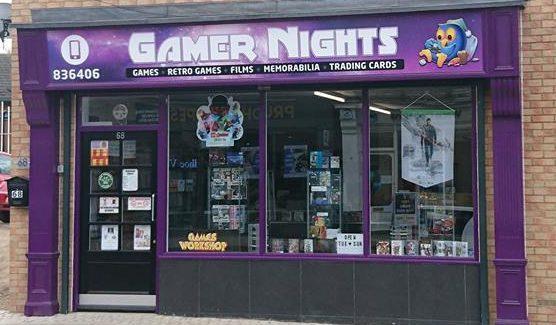 Gamer Nights Game Shop Prudhoe
