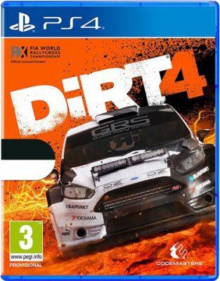Dirt 4 no dlc (PS4)