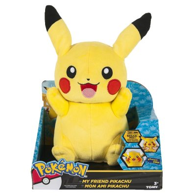 Pokemon My Friend Pikachu Plush