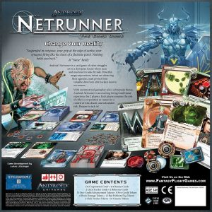 Android Netrunner the Card Game Core Set back