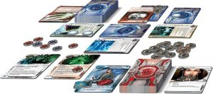 Android Netrunner the Card Game Core Set contents