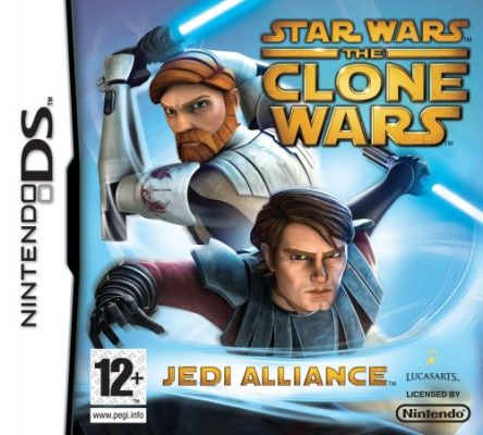 Star Wars The Clone Wars Jedi Alliance (Nintendo DS)