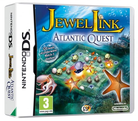 Jewel Link Atlantic Quest (Nintendo DS)