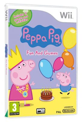 Peppa Pig Fun and Games (Wii)
