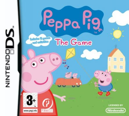 Peppa Pig The Game (Nintendo DS)