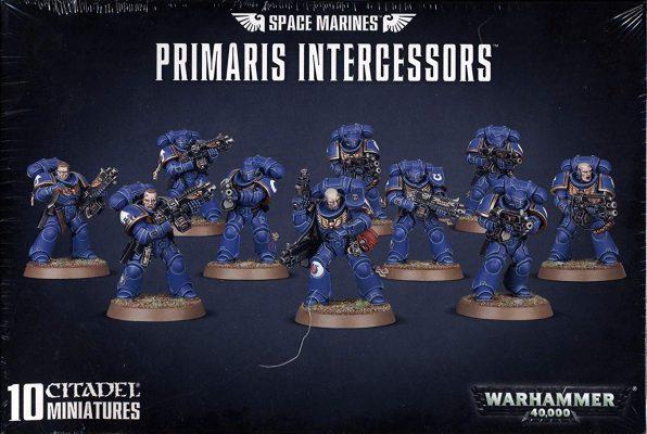 Space Marines Primaris Intercessors (Games Workshop) (NEW)