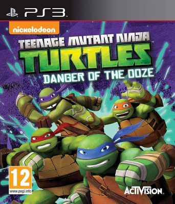 Teenage Mutant Ninja Turtles Danger of the Ooze (PS3)