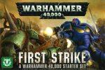 Warhammer 40,000 First Strike Starter Set (Games Workshop) (NEW)