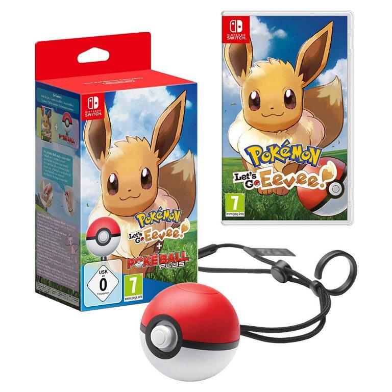 Pokémon Let's Go Eevee! Including Poké Ball Plus (Nintendo Switch)