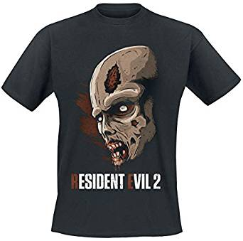 Resident Evil 2 - from The Shadows T-Shirt Black