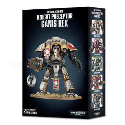 Imperial Knights Preceptor Ganis Rex (NEW)