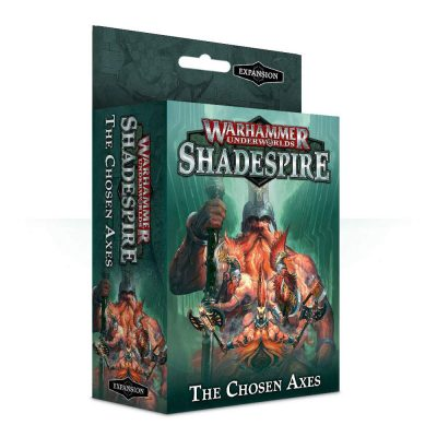 Underworlds Shadespire Chosen Axes (NEW)