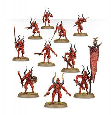 Bloodletters Daemons of Khorne Painted