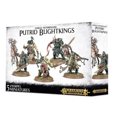 Putrid Blightkings Maggotkin of Nurgle