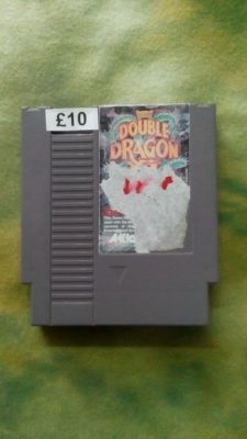 Double Dragon III 3 unboxed (NES)