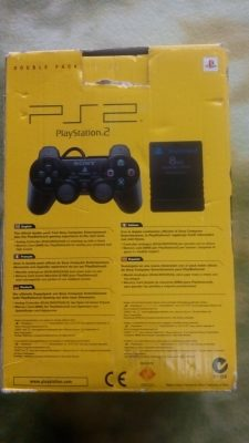 Sealed PS2 Controller / Memory Card