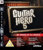 Guitar Hero 5 - Game Only (PS3)