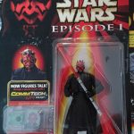 Darth Maul Double-Bladed Lightsaber  Comm Tech (CommTalk) Figure
