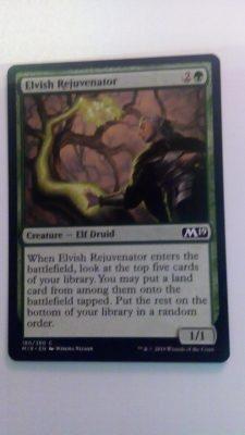 Elvish Rejuvenator (M19) Magic the Gathering (MTG)