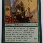 Selvala's Enforcer (Conspiracy) Magic the Gathering (MTG)